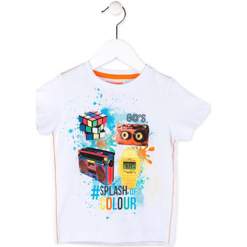 Abbigliamento Bambino T-shirt maniche corte Losan 715 1023AC Bianco