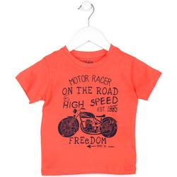 Abbigliamento Unisex bambino T-shirt maniche corte Losan 715 1215AC Arancio