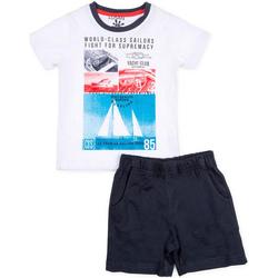 Abbigliamento Bambino Completo Losan 715 8042AC Bianco