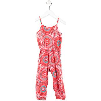 Abbigliamento Bambina Tuta jumpsuit / Salopette Losan 716 7027AD Rosa
