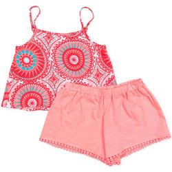 Abbigliamento Bambina Completo Losan 716 8009AD Rosa