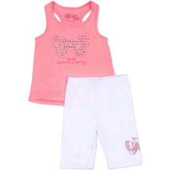 Abbigliamento Bambina Completo Losan 716 8015AD Rosa