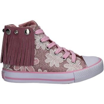 Scarpe Bambina Sneakers alte Lulu LV010072S Rosa