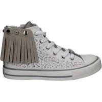Scarpe Bambina Sneakers alte Lulu LV010072S Bianco