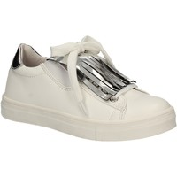 Scarpe Bambina Sneakers basse Didiblu D-3526 Bianco