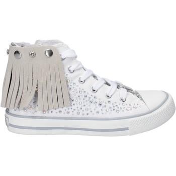 Scarpe Bambina Sneakers alte Lulu LV010074T Bianco