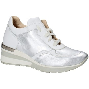 Scarpe Donna Sneakers basse Exton E06 Argento