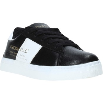 Scarpe Unisex bambino Sneakers basse Fred Mello W19-SFK203 Nero