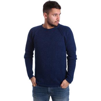 Abbigliamento Uomo Maglioni Gas 561872 Blu