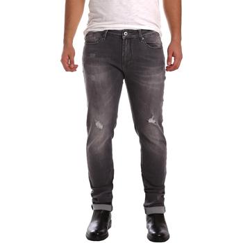Abbigliamento Uomo Jeans slim Gaudi 721FU26001 Nero