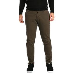 Abbigliamento Uomo Chino Gaudi 721BU25014 Marrone