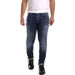Abbigliamento Uomo Jeans slim 3D P3D1 2659 Blu