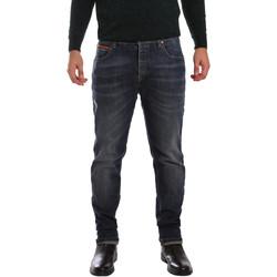 Abbigliamento Uomo Jeans slim 3D P3D1 2667 Blu