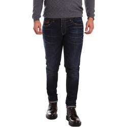 Abbigliamento Uomo Jeans slim 3D P3D6 2659 Blu