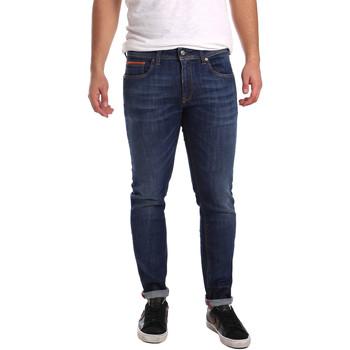 Abbigliamento Uomo Jeans slim 3D P3D6 2667 Blu