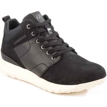 Scarpe Uomo Sneakers alte Lumberjack SM34505 002 M20 Nero