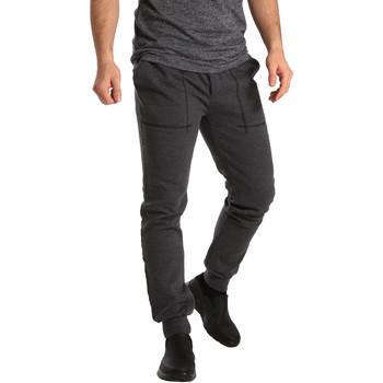 Abbigliamento Uomo Pantaloni da tuta Key Up SF19 0001 Grigio