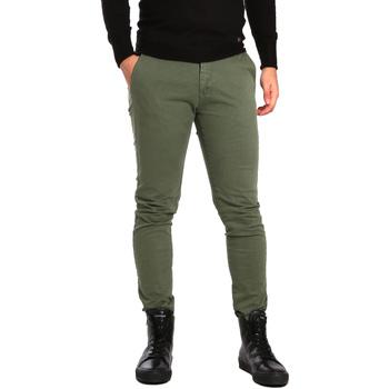 Abbigliamento Uomo Chino Ransom & Co. ALEX-P207 Verde
