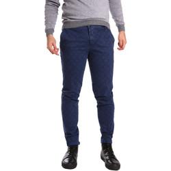 Abbigliamento Uomo Chino Ransom & Co. ALEX-P206 Blu