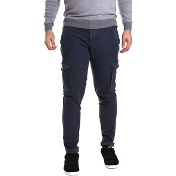 Abbigliamento Uomo Pantalone Cargo Ransom & Co. PAUL-P189 Blu