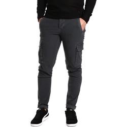 Abbigliamento Uomo Pantalone Cargo Ransom & Co. PAUL-P189 Grigio
