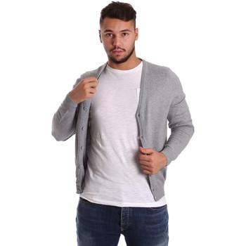 Abbigliamento Uomo Gilet / Cardigan Ransom & Co. CLAY-M065 Grigio