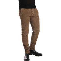 Abbigliamento Uomo Chino Ransom & Co. BRANDON-P205 Marrone