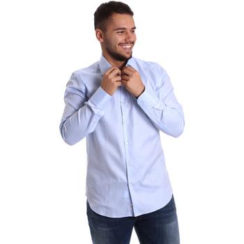 Abbigliamento Uomo Camicie maniche lunghe Gmf 972903/02 Blu