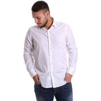Abbigliamento Uomo Camicie maniche lunghe Gmf 972156/03 Bianco