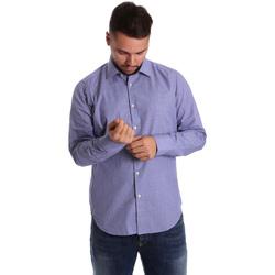 Abbigliamento Uomo Camicie maniche lunghe Gmf 972160/04 Blu