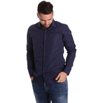 Abbigliamento Uomo Camicie maniche lunghe Gmf 972900/04 Blu