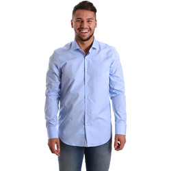 Abbigliamento Uomo Camicie maniche lunghe Gmf 972900/03 Blu