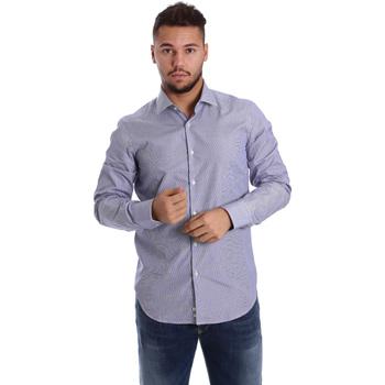 Abbigliamento Uomo Camicie maniche lunghe Gmf 972906/04 Blu