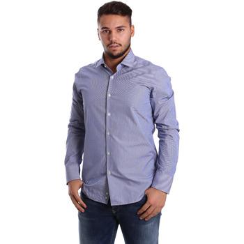Abbigliamento Uomo Camicie maniche lunghe Gmf 972908/04 Blu