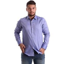 Abbigliamento Uomo Camicie maniche lunghe Gmf 972103/05 Blu