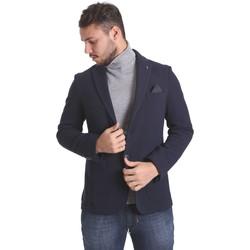 Abbigliamento Uomo Giacche / Blazer Sei3sei PZG9 7291 Blu