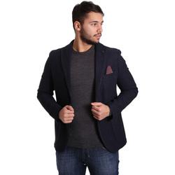Abbigliamento Uomo Giacche / Blazer Sei3sei PZG12 7296 Blu