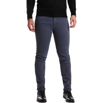 Abbigliamento Uomo Pantaloni 5 tasche Sei3sei PZV16 7239 Blu