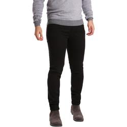 Abbigliamento Uomo Pantaloni 5 tasche Sei3sei PZV17 7257 Nero