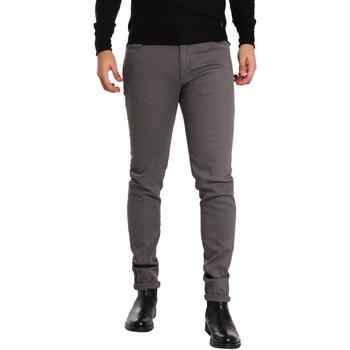 Abbigliamento Uomo Pantaloni 5 tasche Sei3sei PZV17 7257 Grigio