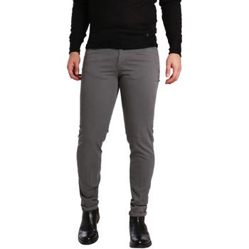 Abbigliamento Uomo Pantaloni 5 tasche Sei3sei PZV17 7226 Grigio