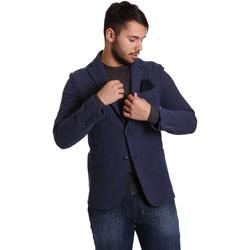 Abbigliamento Uomo Giacche / Blazer Sei3sei PZG9 7290 Blu