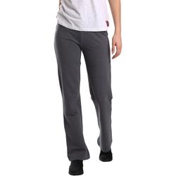 Abbigliamento Donna Pantaloni morbidi / Pantaloni alla zuava Key Up 549F 0001 Grigio