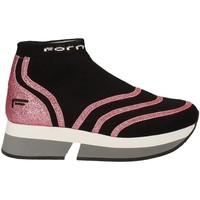 Scarpe Donna Sneakers alte Fornarina PI18SL1077J066 Nero