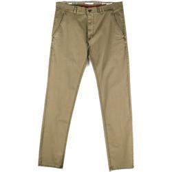 Abbigliamento Uomo Chino Gaudi 811FU25033 Verde
