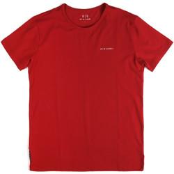 Abbigliamento Uomo T-shirt maniche corte Key Up 2G69S 0001 Rosso
