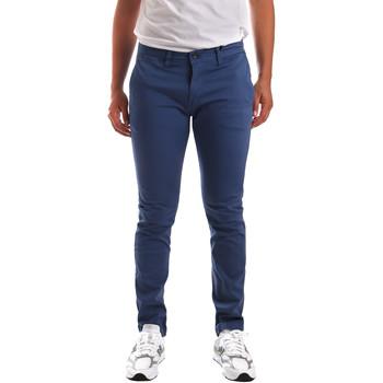 Abbigliamento Uomo Chino Gaudi 911BU25007 Blu