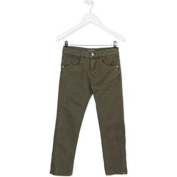 Abbigliamento Unisex bambino Pantaloni 5 tasche Losan 723 9661AA Verde