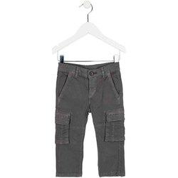 Abbigliamento Unisex bambino Pantalone Cargo Losan 725 9011AC Verde