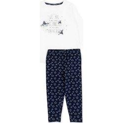 Abbigliamento Bambina Completo Losan 726 8003AD Bianco